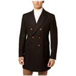 Tallia Mens Herringbone Double Top Coat