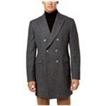 Tallia Mens Herringbone Pea Coat