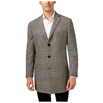 Tallia Mens Plaid Three Button Blazer Jacket