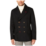 Tallia Mens Bee button Pea Coat