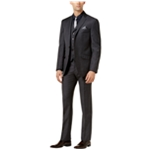 Tallia Mens Sharkskin Two Button Formal Suit