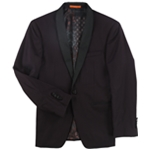 Tallia Mens Twill Two Button Blazer Jacket