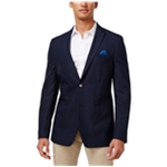 Tallia Mens Striped Two Button Blazer Jacket