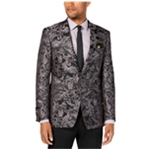 Tallia Mens Slim-Fit Paisley Two Button Blazer Jacket