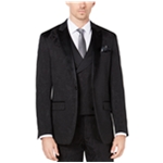 Tallia Mens Black Bird One Button Blazer Jacket