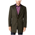 Tallia Mens Herringbone Top Coat