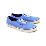 Vans Unisex Authentic Washed Twill Sneakers