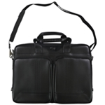 Solo New York Mens Faux Leather Briefcase