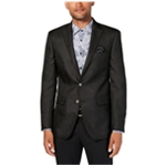Tallia Mens Geometric Two Button Blazer Jacket