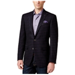 Tallia Mens Sport Coat Two Button Blazer Jacket