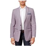 Tallia Mens Slim Seersucker Sport Coat