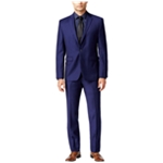 Vince Camuto Mens Flannel Two Button Suit