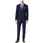 Vince Camuto Mens Plaid Two Button Formal Suit