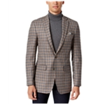 Tallia Mens Wool-Blend Check Sport Coat
