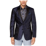 Tallia Mens Floral Two Button Blazer Jacket