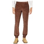 Tallia Mens Slim-Fit Corduroy Casual Jogger Pants