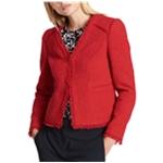 DKNY Womens Textured Blazer Jacket