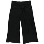 GUESS Womens Nicci Wrap Casual Cropped Pants
