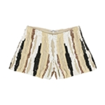 GUESS Womens Lola Sequin Casual Mini Shorts