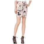GUESS Womens Irene Lace Up A-line Skirt