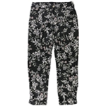 GUESS Womens Floral Casual Trouser Pants