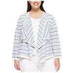 Tommy Hilfiger Womens Striped Cardigan Sweater