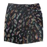 GUESS Womens Inari Jacquard Mini Skirt