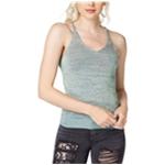 GUESS Womens Metallic Knit Tank Top