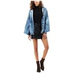 True Religion Womens Vegan Leather Mini Skirt
