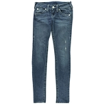 True Religion Womens Distressed Skinny Fit Jeans