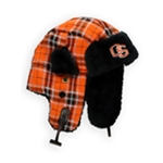 Top of the World Mens Oregon State Plaid Trapper Hat