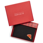Perry Ellis Mens Piece Of Pizza Bifold Wallet