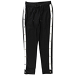 Waisted Womens Solid Athletic Jogger Pants