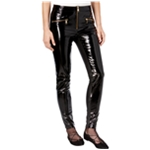Tommy Hilfiger Womens Leather Casual Leggings