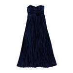 Speechless Womens Strapless Full Length Gown Dress