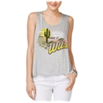 Rebellious One Womens Wild Cut-Out Tank Top