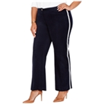 Tommy Hilfiger Womens Varsity Stripe Casual Trouser Pants