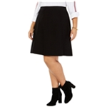 Tommy Hilfiger Womens Flare A-line Skirt