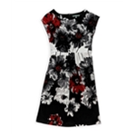 NY Collection Womens Floral Sheath Dress