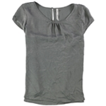 NY Collection Womens SS Knit Blouse