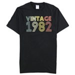 Port & Company Mens Vintage 1982 Graphic T-Shirt