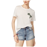 Carbon Copy Womens Palm Basic T-Shirt