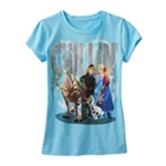Disney Girls Chillin' Graphic T-Shirt