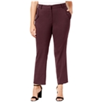 NY Collection Womens Pocket Detail Dress Pants