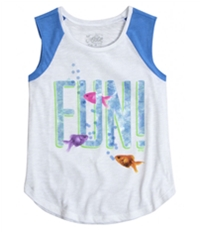 Justice Girls Fun! Fish Graphic T-Shirt