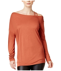 Bar Iii Womens Strappy Knit Blouse