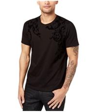 I-N-C Mens Flocked Basic T-Shirt
