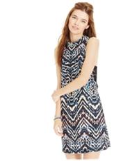 Material Girl Womens Printed Shift Dress