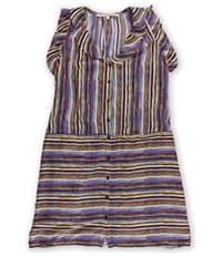 Rachel Roy Womens Lights Down Shirt Dress