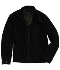 I-N-C Mens Wool Full Zip Field Jacket